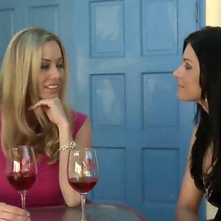 India Summer and Anita Dark Hot Mature Lesbians